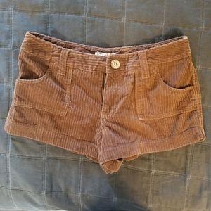 OP corduroy shorts